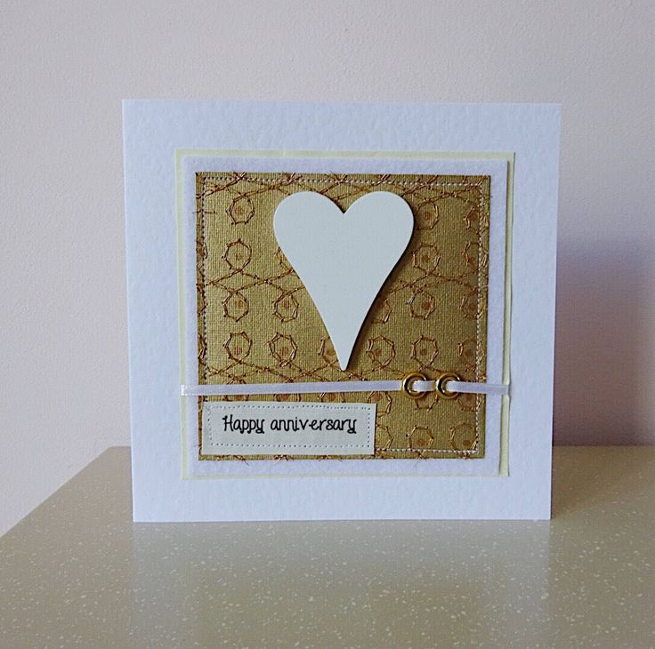 A personal favourite from my Etsy shop https://www.etsy.com/uk/listing/520474950/golden-anniversary-card-congratulations