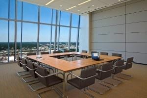 Bass Berry & Sims multipurpose meeting space. Photo: ASD, Inc.