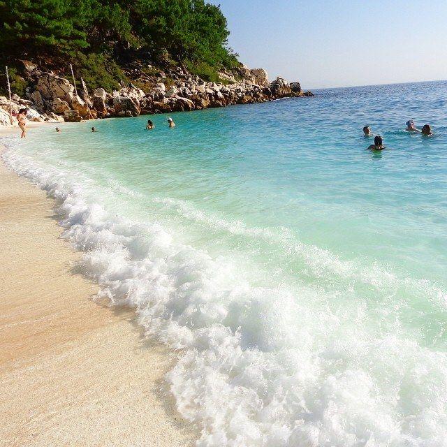 Saliara Beach @ Thassos Island! photo ©Floarea Soarelui