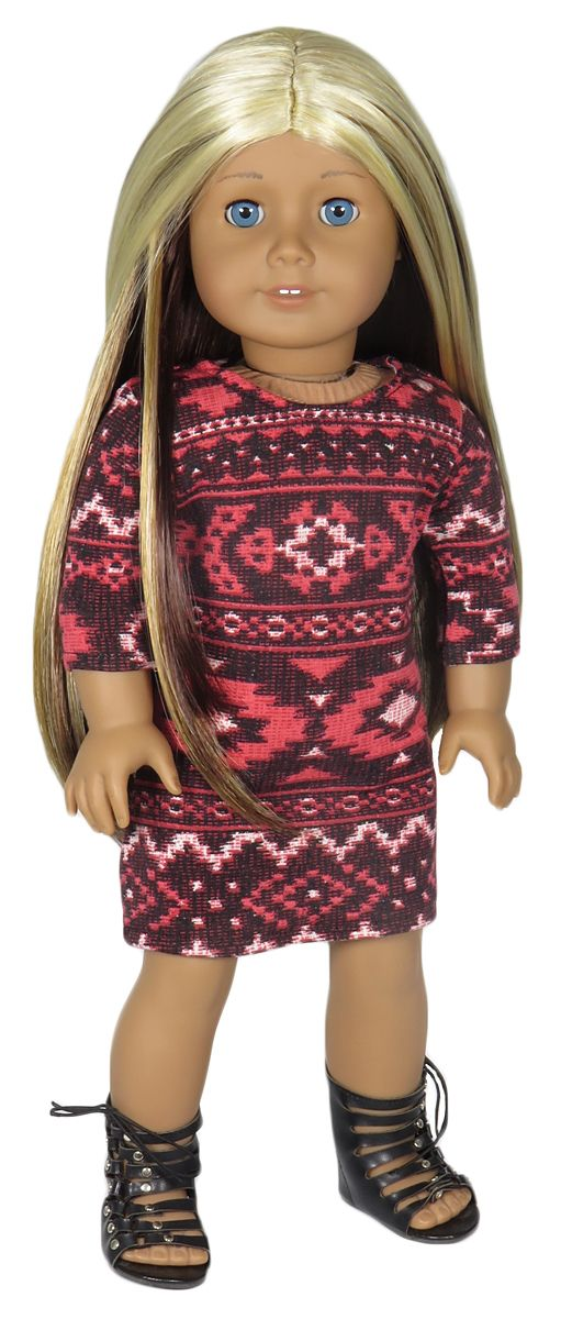 Silly Monkey - Knit Tribal-Print Dress. Red, Black, and White., $13.99 (http://www.silly-monkey.com/products/knit-tribal-print-dress-red-black-and-white.html)
