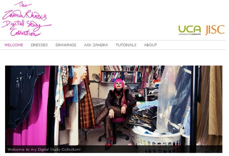 Zandra Rhodes Design Archive Launched Online Design Jobs Fashion Jobs Design