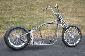 Kraft Tech Softail Bobber Chopper Frame Rolling Roller Chassis Harley Motorcycle | eBay