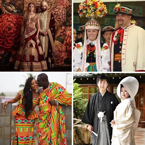20+ Traditional Wedding Outfits from Around the World – Adroab Style
