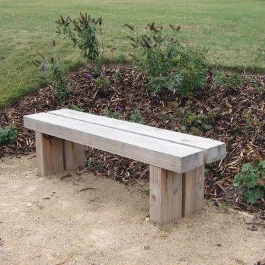 Wykeham wooden bench, country litter bin range of outdoor furniture by  manufacturers Woodcraft UK,