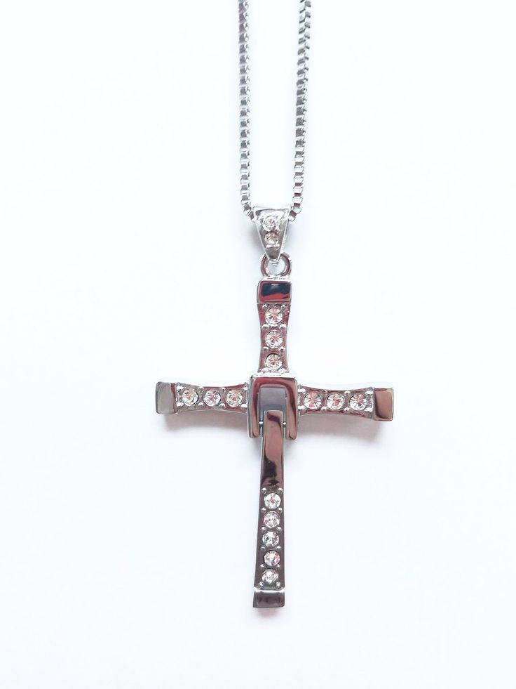 fast and furious stainless steel titanium durable never fade necklace