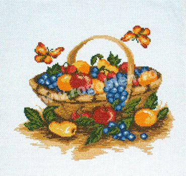 Cod produs 111.00 Cos cu fructe Culori: 14 Dimensiune: 15 x 15cm Pret: 43.15 lei