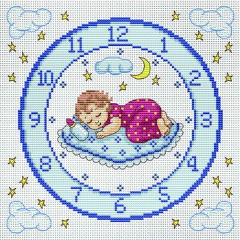 Good Night - Cross Stitch