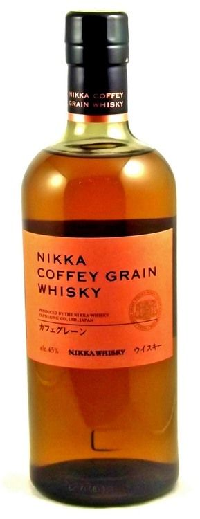 Loved this Japanese whisky at 2015 WOW - Nikka Coffee Grain Whisky is a release of grain whisky from Japan's Nikka, produced mainly from corn using one of their continuous Coffey stills.