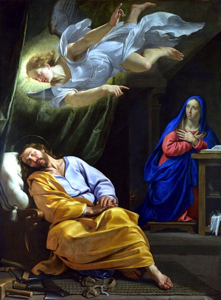 Philippe de Champaigne, Songe de Joseph, vers 1642-43. London, National Gallery.