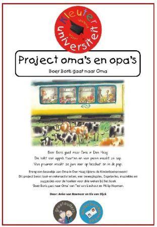 Project opa en oma kleuters kinderboekenweek 2016 grootouders juf anke