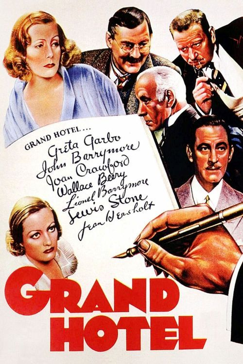 Grand Hotel (1932) Full Movie Streaming HD