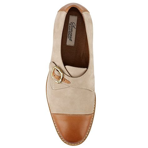 Buy Somerset by Alice Temperley Gordano Two Tone Monk Shoes Online at johnlewis.com