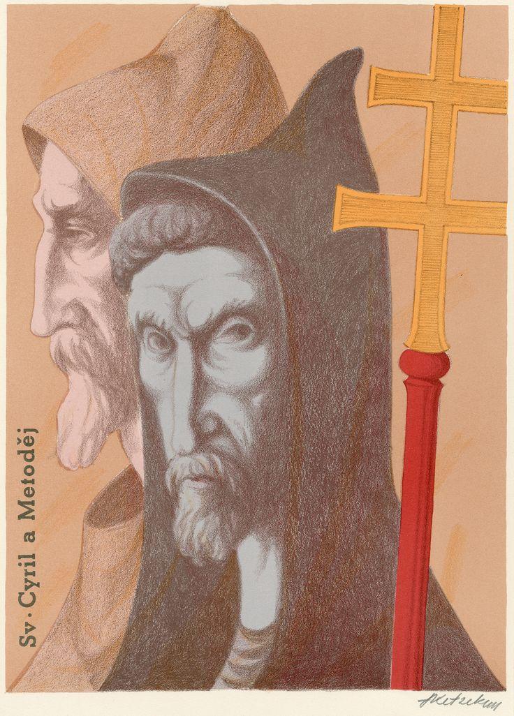 Svatý Cyril a Metoděj (Saints Cyril and Methodius)