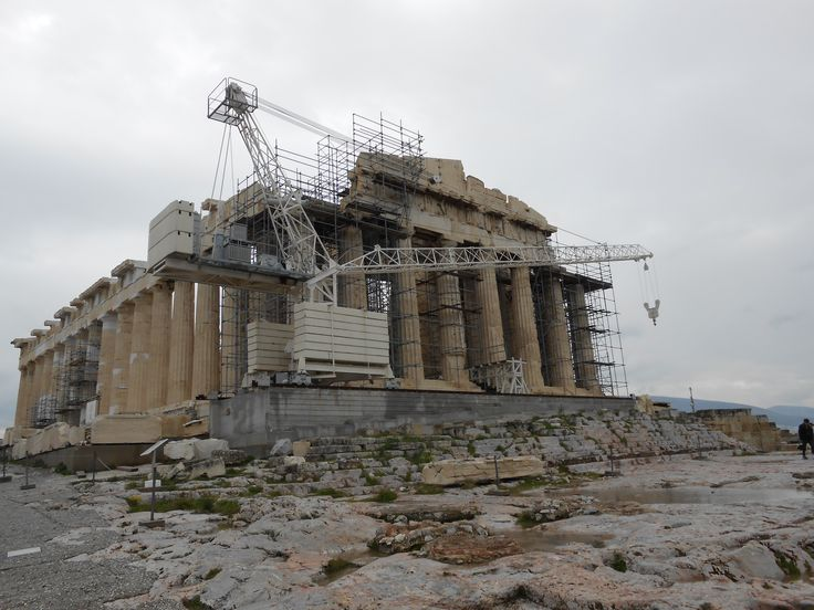 ACROPOLIS, Athens, Greece. ...in the making (restoration)