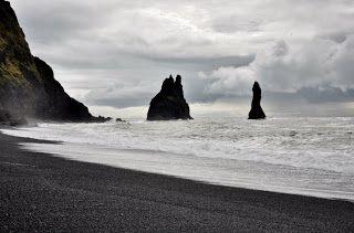 #Iceland #Izlanda #Vik Black beach siyah kum