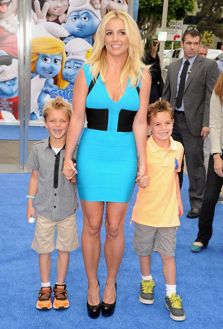 Britney Spears and her sons – look at how young they were!
