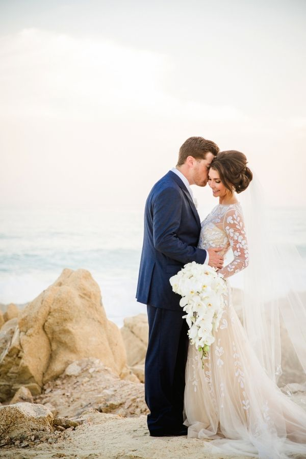 Romantic + beachy Mexico destination wedding: Photography: Sara Richardson - http://sararichardsonphoto.com/