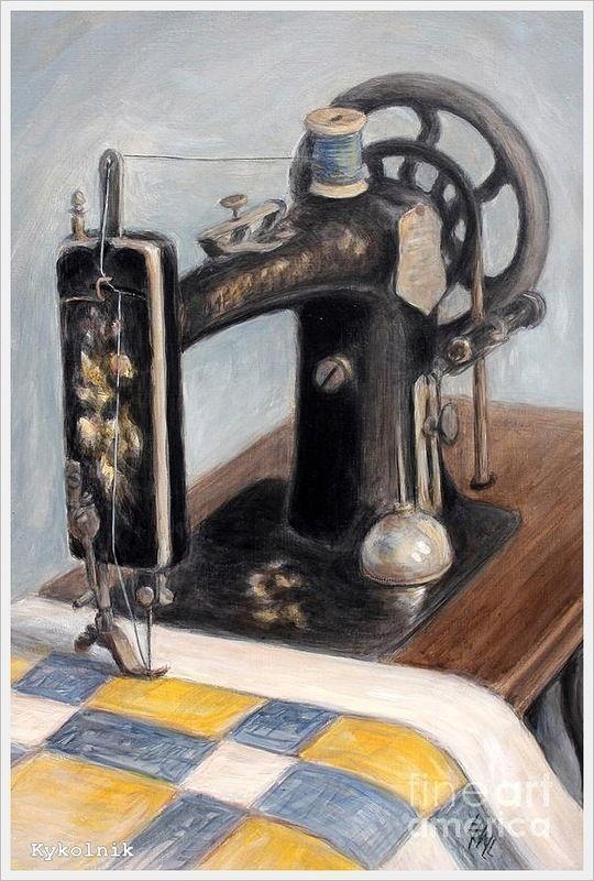 Рисунок книгу о тряпку швейная машина фото вопросом
