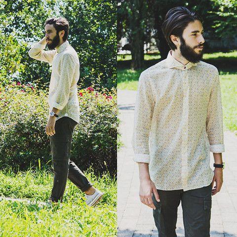 Zara Pants, Converse Sneakers, Ale Hop Watch, Domenico Tagliente Shirt