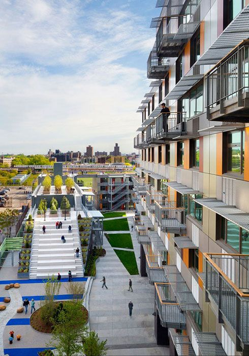 Bronx, New York: Innovative Design of Via Verde's Affordable Housing Development | HUD USER