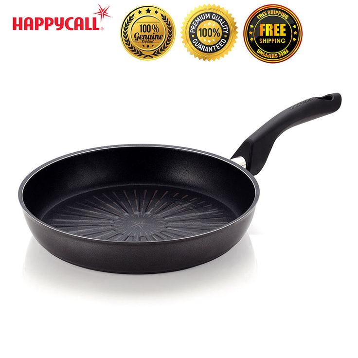 Happycall Nonstick Plasma Induction Titanium 11'' Best Grill Frying Pan Culinary #Happycall