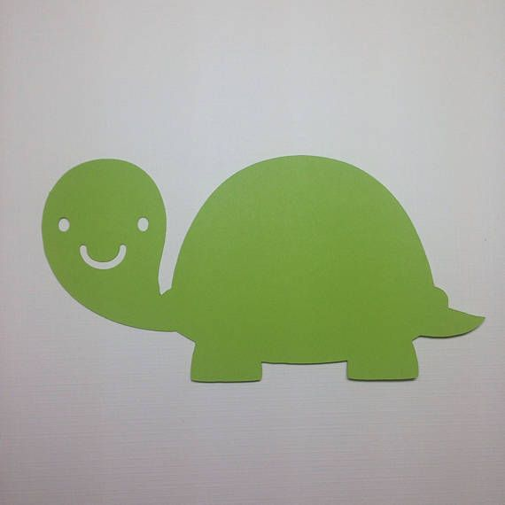 Pond Animal Party Decorations Turtle Die Cuts Paper Turtle