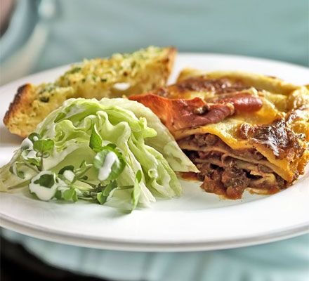 Keep vegetarians and meat-eaters happy - make two classic sauces, then assemble your lasagnes