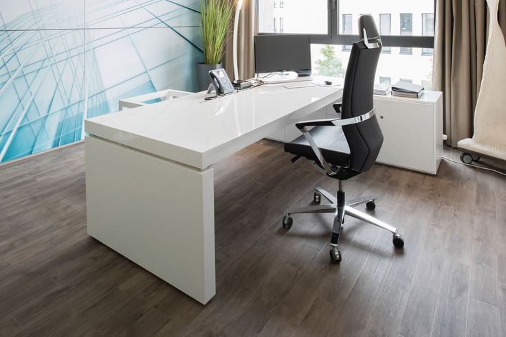 Eckschreibtisch weiß design  Büro-Schreibtisch PRAEFECTUS preis ▭ modern Büro-schreibtische ...