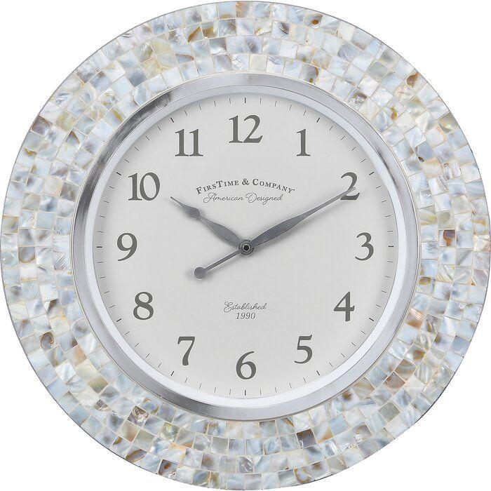 Vivien 15 Wall Clock In 2020 Wall Clock Clock Mosaic Frame
