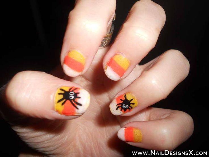 easy halloween nail design » Nail Designs & Nail Art