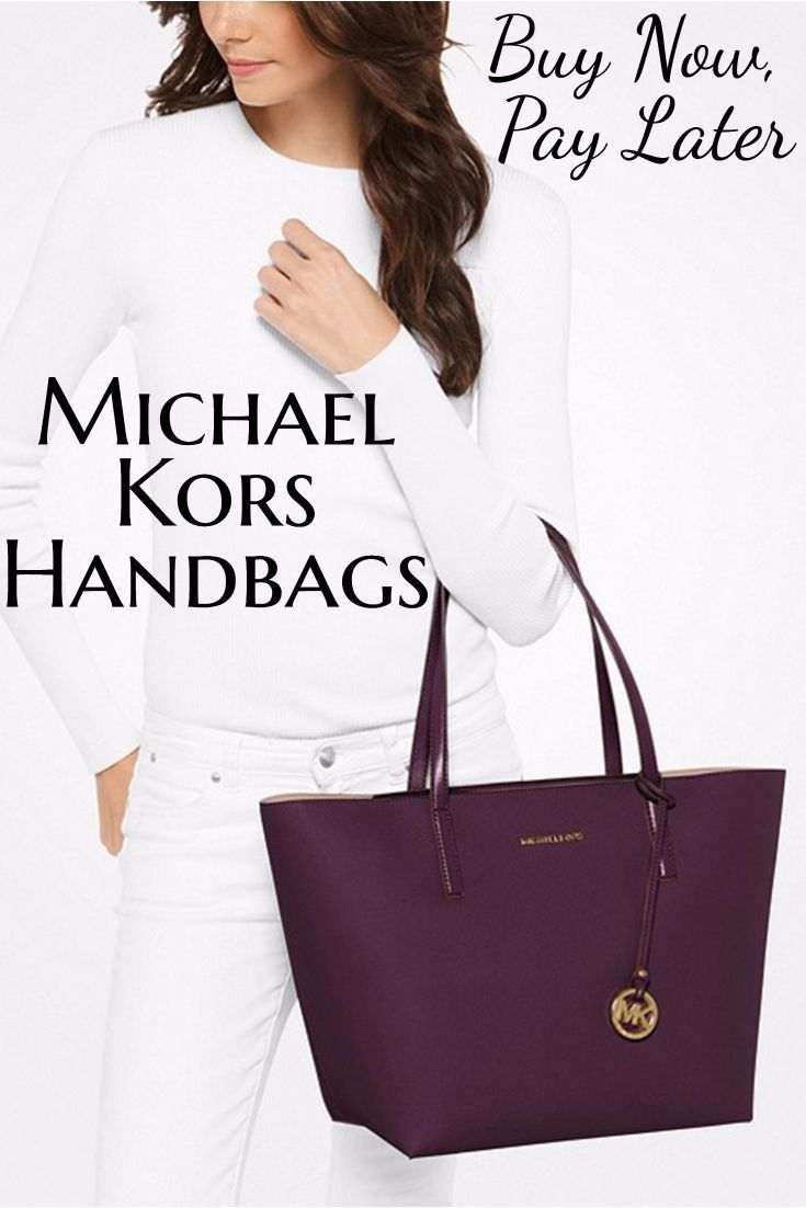 Buy new and used Michael Kors handbags at stores that offer payment plans  or deferred billing bdfa6092947d3