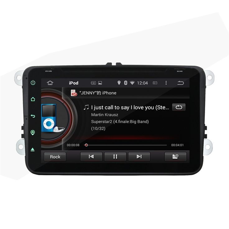 """Fit for Skoda Octavia II FABIA SUPERB Octavia III 2 3  full touch  8"""" android 5.1.1 HD 1024*600 car dvd player gps radio 3G wifi"""