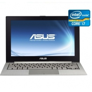 "Ultrabook Asus Intel Core I7 11.6"" 4GB 128GB SSD Silver Windows7 UX21E-DH71"