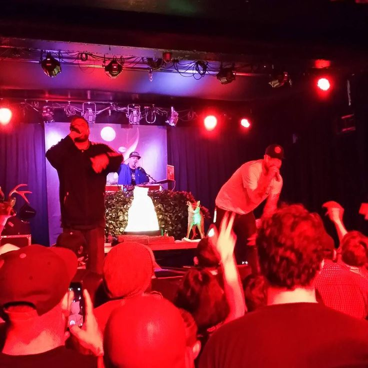 Aesop rock & Rob Sonic at Fremont Country Club. 5.18
