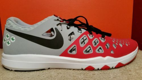 NIKE TRAIN SPEED 4 AMP Size 9.5 Ohio State Buckeyes 844102-603 Mens Shoes  NEW | Men's Shoes | Pinterest