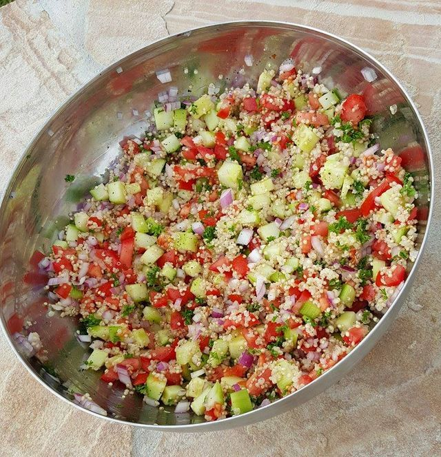 Quinoa Tabouli for Meal Prep! | Clean Food Crush | Bloglovin'