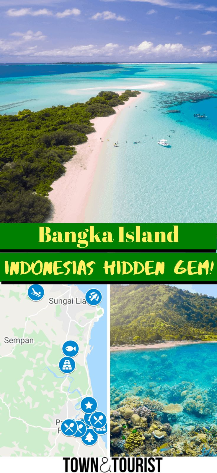 Bangka Island Indonesia, Map of Things to do in Ba…