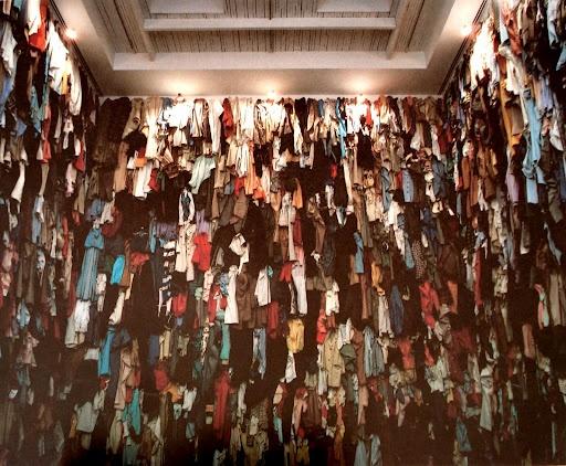 Réserve, Canada, Christian Boltanski, vue d'installation, Toronto, Ydessa Hendeles Art Foundation, 1988