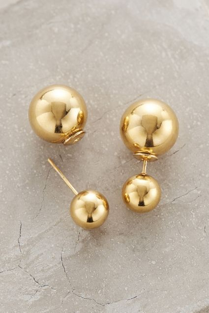 Alnwick Round-Backed Studs - anthropologie.com