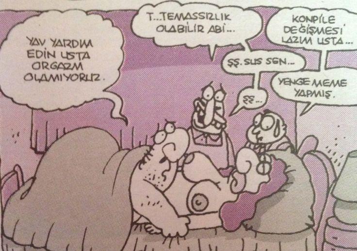 Karikatür | yenge meme yapmış :))