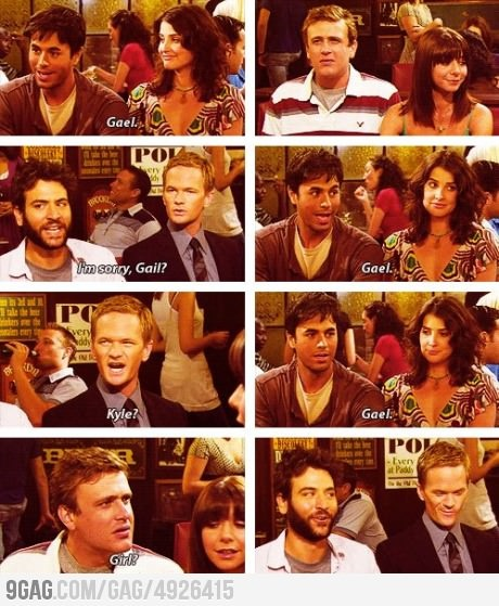 oh marshal. how i met your mother