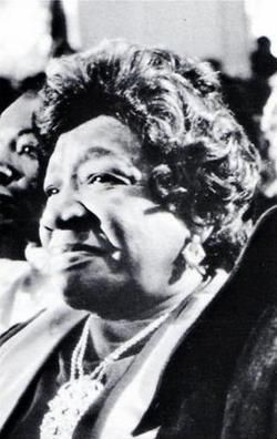 "Alberta Williams King, mother of Martin Luther King, Jr., was assassinated June 30, 1974 at the hands of Marcus Wayne Chenault, 23 years old.  The Rev. Martin Luther King, Sr., struck by the violent deaths of his two sons and by the tragic death of his wife Alberta, said at her funeral service on July 3, ""I cannot hate any man."""