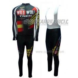 Equipación 2012 WildWolf Trek España Campeón Invierno (Chaqueta y Culotte largo con tirantes) 70€