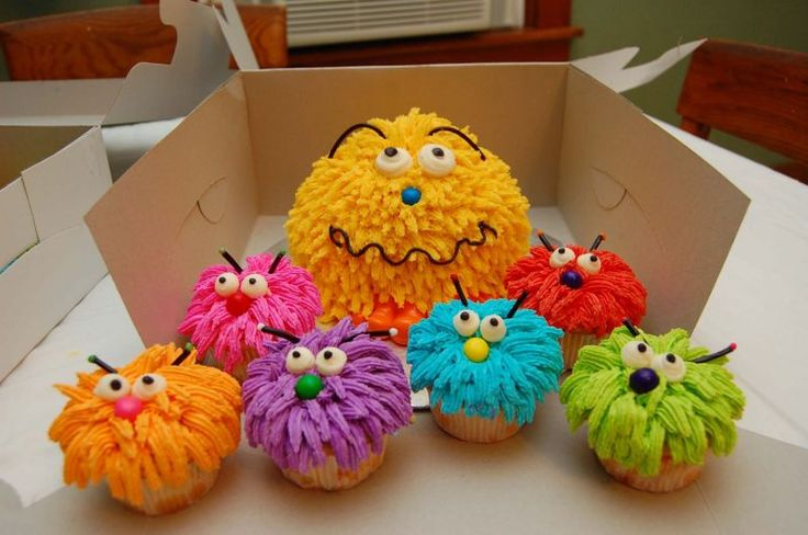 coolest birthday monster cakes | www.cake-decorating-ideas.info
