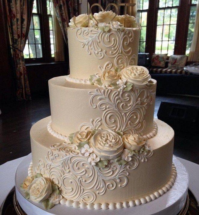 ✔ 30 Hochzeitstorten, so elegant, dass wir nicht wegsehen können 00071   – Wedding cake