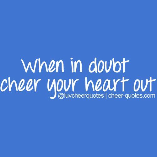 Cheerleading Quotes: 1000+ Cheerleading Quotes On Pinterest