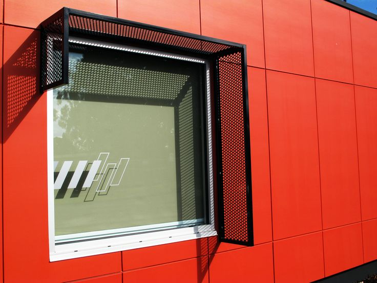 Architecture, Design, Modern, Commercial, Ambulance, Ambulance Station, Ambulance Victoria, Red, Timboon