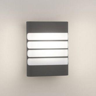 Applique extérieure électrique LED rectangulaire hauteur 20cm Raccoon Philips