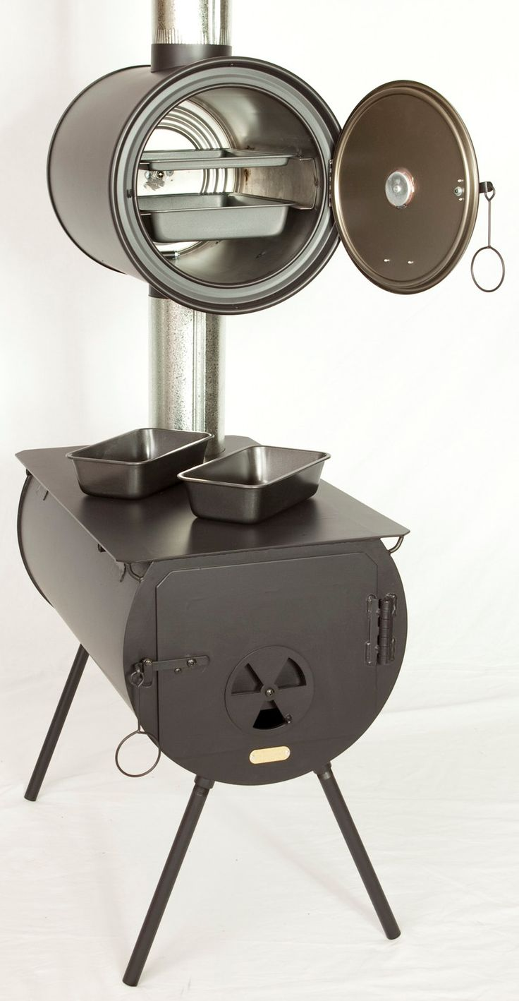 ortable Wood Stoves  and Packages. Package Accessories fit inside of Stove for Storage and Transporting. Great for summer kitchens and emergencies. Also comes with optional oven. Very affordable!