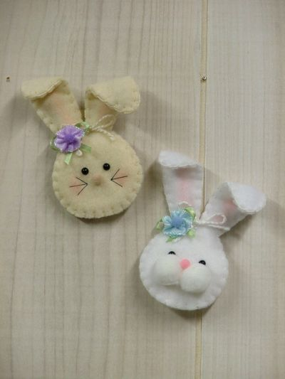 Signs of Spring: Bunny Pin/Magnet...